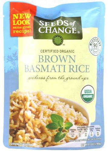 Seeds of Change Organic Brown Basmati Rice Microwave Pouc...
