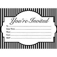 """16A6invitaciones para adultos/adolescentes Birthday- o cualquier evento """"estás"""
