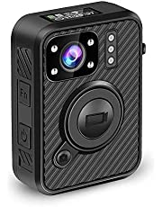 BOBLOV 2K 1440P 32G Body Mounted Camera Body Worn Cam with WiFi GPS and .66 inch LCD Screen Big Button for Recording