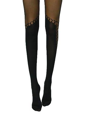 large choix de couleurs grande qualité vente chaude réel Kebello Collant Fantaisie Femme Noir: Amazon.fr: Vêtements ...