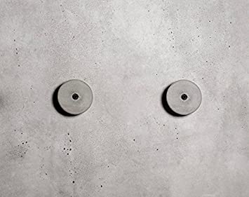 anaan Decimal Diseño Perchero Pared Hormigón Concreto Colgador Abrigos Redondo Gancho Pared Pasillo Moderno Decorativo nordico Estilo Industrial ...