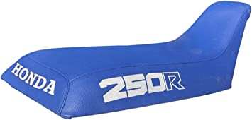 VPS Seat Cover Compatible With Honda ATC 250R 85-86 Logo Blue Standard Seat Cover