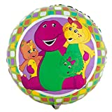 "Anagram/Md 18"" Barney & Friends Mylar Dinosaur Balloon"
