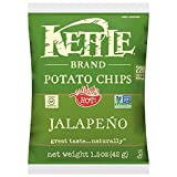 Cheap Kettle Brand Potato Chips, Jalapeno, Single-Serve 1.5 Ounce Bags (Pack of 64)
