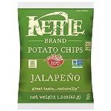 Kettle Brand Potato Chips, Jalapeno, 1.5 oz