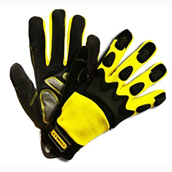 Stanley S77561 Prodex High Dexterity Glove with TPR Knuckle Protection, Large