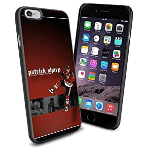 diy zhengNHL Patrick Sharp Chicago Blackhawks, Cool iphone 5/5s Case Cover Collector iPhone TPU Rubber Case Black