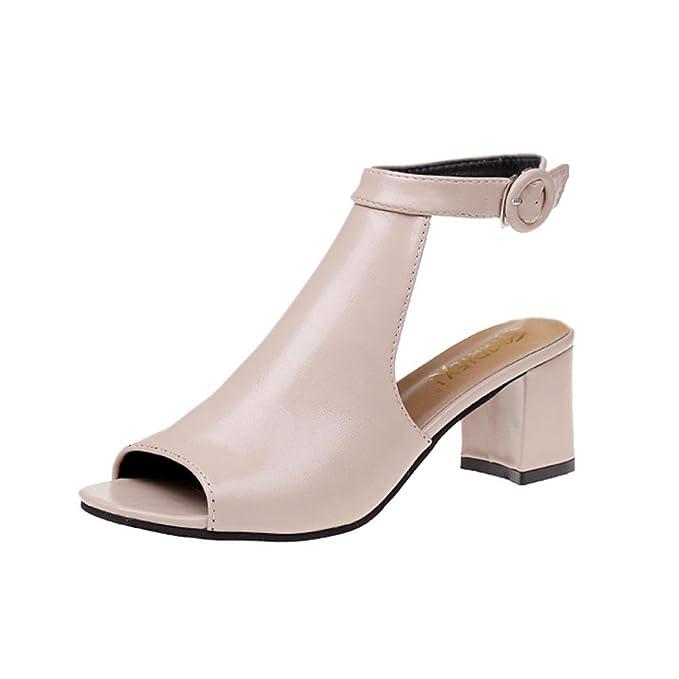 f694b8370d7f DENER Women Girls Ladies High Heels Sandals