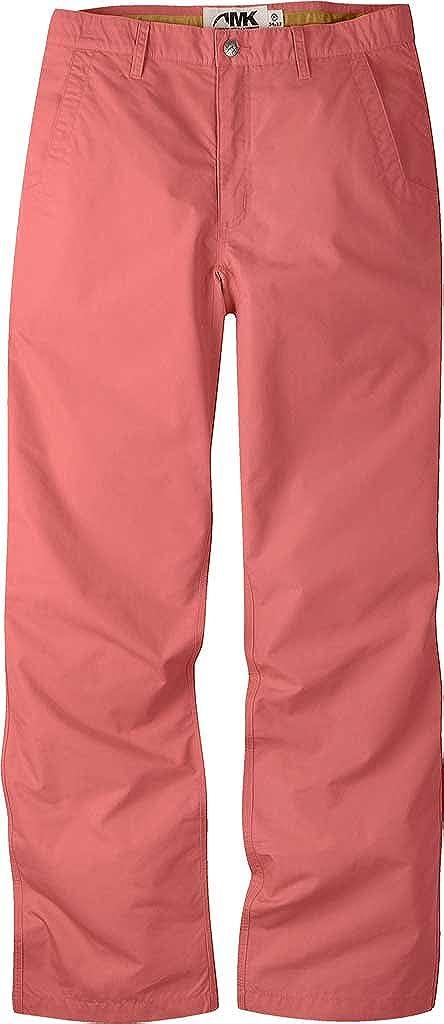 Mountain Khakis Men's Poplin Pant Relaxed Fit, Rojo, 32W 32L