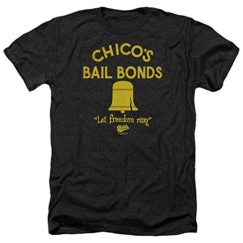 Sons of Gotham Bad News Bears Chico's Bail Bonds Adult Regular Fit Heather T-Shirt
