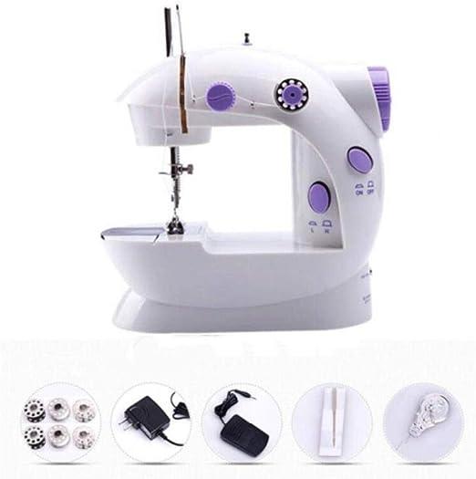 Pequeña máquina de coser Máquina de coser doméstica inalámbrica ...