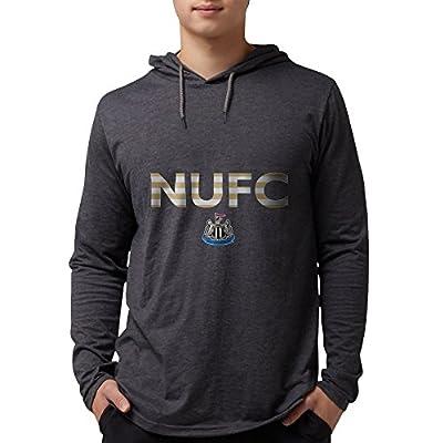 CafePress - Newcastle United FC Stripes - Mens Hooded Shirt