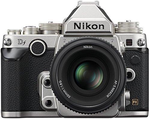 Nikon 1528 DF 16.2 MP CMOS FX-Format Digital SLR Camera (Black) with AF-S Nikkor 50mm f/1.8G Lens, 4GB Card and Camera… 1