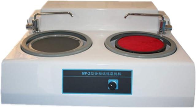 Metallographic Sample Grinding Machine Polishing Machine Desktop Double Metallographic  Polisher Grinder Speed Optional (220V) - - Amazon.com