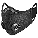Dukars Sports Mask, Dustproof Mask Activated Carbon