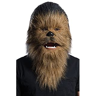Rubie's unisex adults Chewbacca Costume Mask, As Shown, Adult US