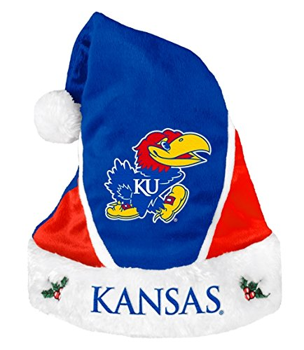 Kansas Jayhawks Santa Hat - Colorblock 2014