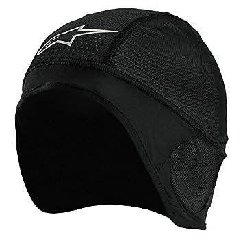 Alpinestars Gorro Para Casco Moto Skull Negro (Default, Negro)