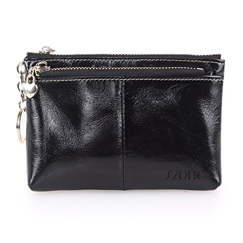 S ZONE Womens Genuine Leather Holder