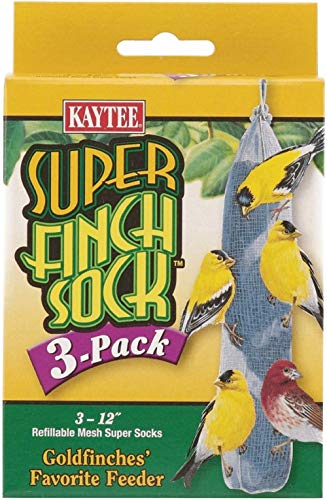 Kaytee Feeder Sock Super Finch (3 Pack) (.3 Case(3 Pack))