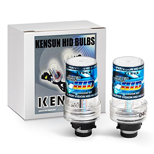 "Kensun HID Xenon Replacement Bulbs ""All Sizes and Colors"" - D4S - 5000k (In Original Kensun Box)"