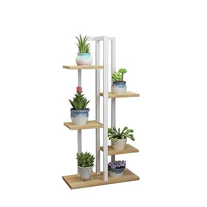 Wood Flower Pot Bonsai Rack Home Garden Indoor Display Plant Stand Holder Hot