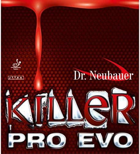 schwarz Kurznoppe Optionen 1,3 mm DR NEUBAUER Belag Killer Pro Evo