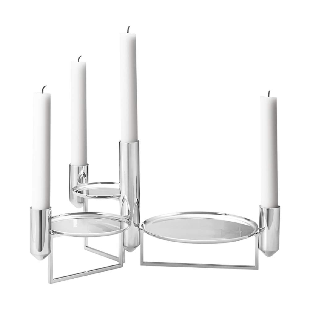 Georg Jensen Tunes Centerpiece, Stainless Steel, by Monica Forster