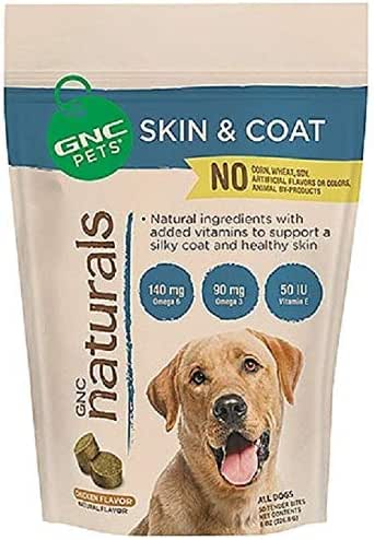 GNC Pets Naturals Skin & Coat - Yummy Chicken Flavor 50 Tender Bites