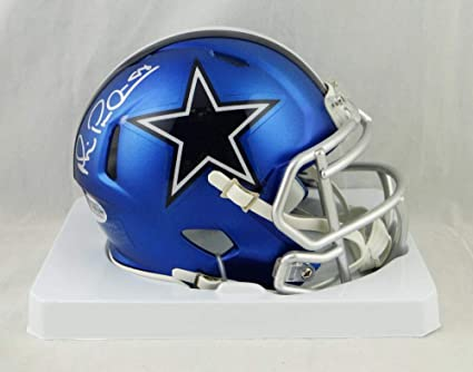 2942f6120e6 Image Unavailable. Image not available for. Color: Michael Irvin Signed  Dallas Cowboys BLAZE Mini Helmet ...
