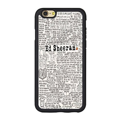 "Price comparison product image Ed Sheeran Case for Iphone 6,Customize Famous Singer Ed Sheeran Cover Case for Iphone 6 4.7"" TPU Case"