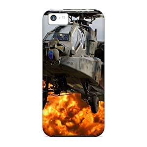 Sanp On Cases Covers Protector For Iphone 5c (black Hawk Explosion)