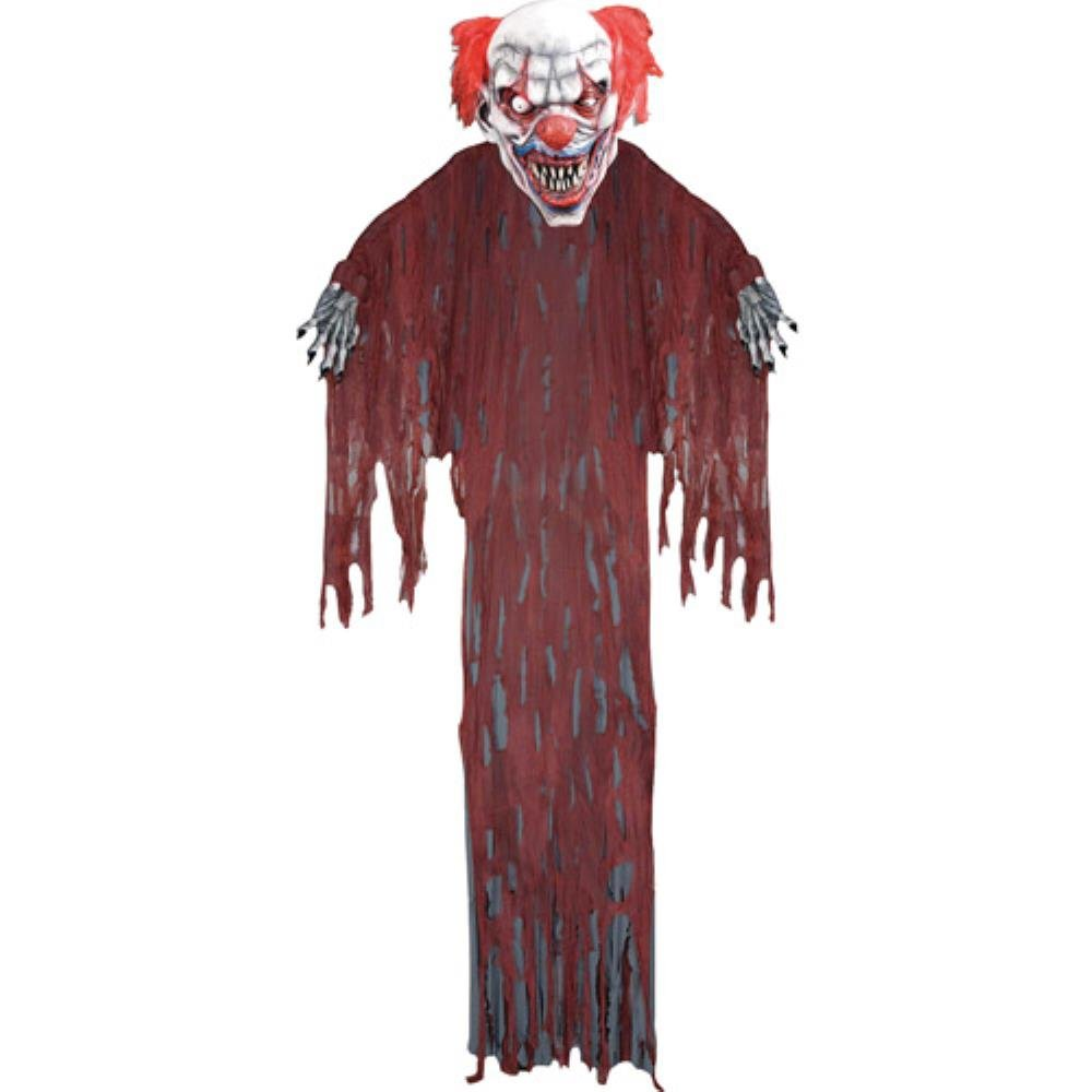 12' Hanging Clown Halloween Prop by BLOSSOMZ