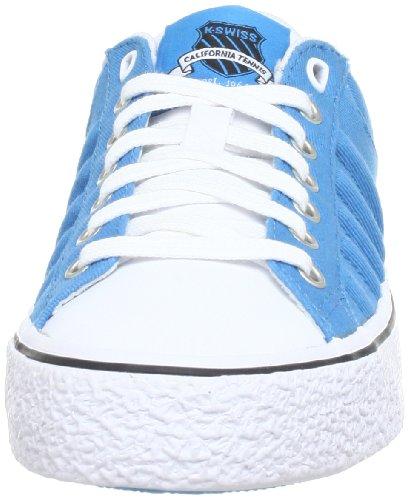 K-Swiss ADCOURT CVS-L VNZ - Zapatillas de lona mujer azul - Blau (Vivid Blue/White/Black)