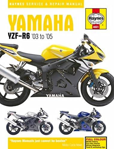 yamaha yzf r6 service and repair manual 2003 to 2005 matthew coombs rh amazon com 2005 yamaha r6 owner's manual 2005 yzf r6 owner's manual