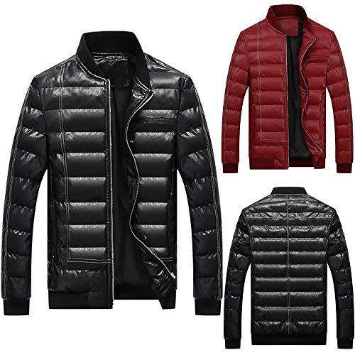 Veste Manteau Éclair Rembourré Autumne Collier Coton Xxxl Pardessus Sweatshirt Hiver Hommes Fermeture En Casual Blouse Rouge Sport Blouson De t0IwqF8