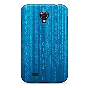 Awesome Design Matrix Binary Hard Case Cover For Galaxy S4