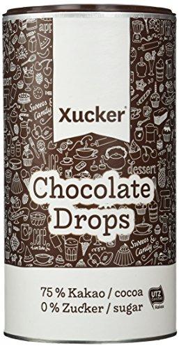 Xucker Chocolate-Drops 75 Prozent, 1er Pack (1 x 800 g)