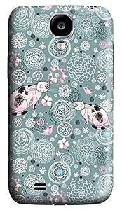 Samsung Galaxy S4 I9500 Hard Case - Two Kittens Galaxy S4 Cases hjbrhga1544