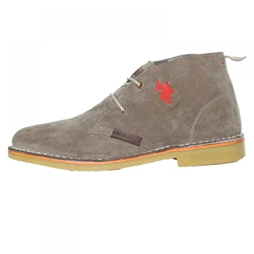 US Polo Association - botines safari hombre, color gris, talla 44: Amazon.es: Zapatos y complementos