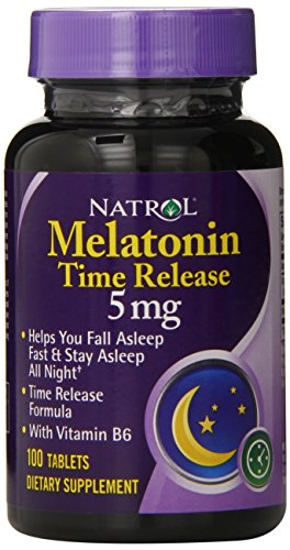 Natrol Melatonin Time Release Tablets, 5mg, 100 co…