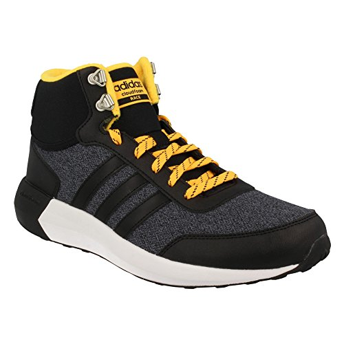 adidas-NEO-Mens-Cloudfoam-Race-Wtr-Mid-Running-Shoe-BlackBlackSolar-Gold-8-M-US