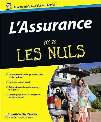 L'Assurance Pour Les Nuls - Laurence de PERCIN sur Bookys