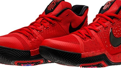 cheap for discount 90955 40d62 Galleon - Nike Kids Kyrie 3 GS, UNIVERSITY RED BLACK-TEAM RED, Youth Size  5.5