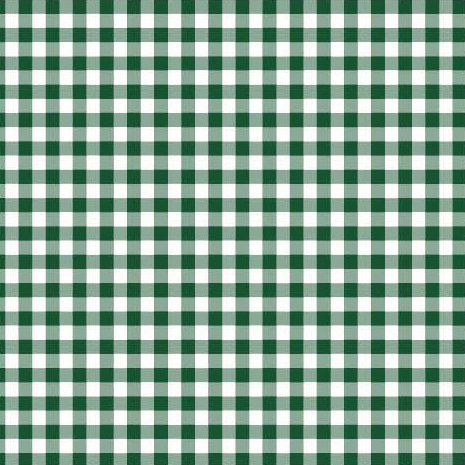 Disposable 3-Ply Party Napkins Paper, Green Plaid (Pack of 50)