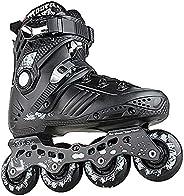 Inline Skates for Women Men, Professional Inline Carbon Fiber Speed Skating Shoes ABEC-7 Roller Skates Single