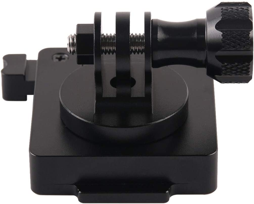 Camera Mounts /& Clamps GP244-B Aluminum Mount for Gopro Hero3//3+//4//5//6//7 HD and NVG Mount Base