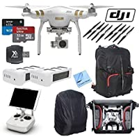 Circuit Street DJI Phantom 3 Professional Drone & CS Kit (21 Items)