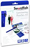 Swordfish A4 2x75 (150) Micron Laminating Pouches (Box of 25) Ref: 48018