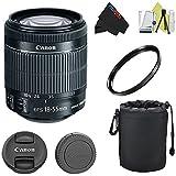 Canon EF-S 18-55mm f/3.5-5.6 IS STM Lens Pixi-Basic Accessory Kit